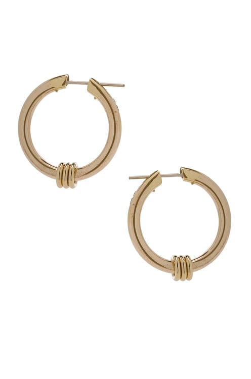 Spinelli Kilcollin Ursa Major Hoop Earrings