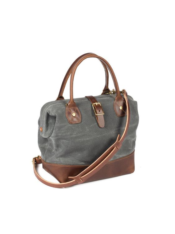 Wood&Faulk Wood&Faulk Sidecar Everyday Bag North Coast Grey