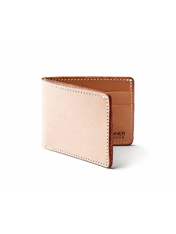 Tanner Goods Tanner Goods Utility Bifold Wallet Natural