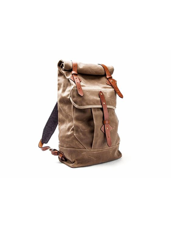 Tanner Goods Tanner Goods Wilderness Rucksack Waxed Field Tan