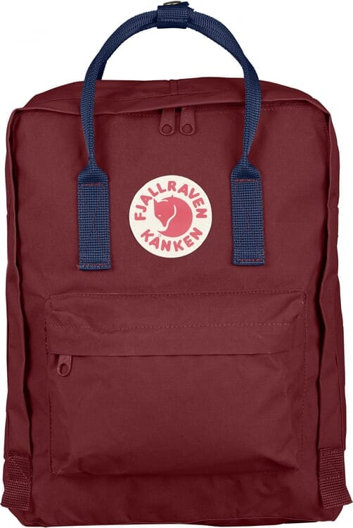 FJALLRAVEN Fjallraven Kanken Classic Backpack Ox Red Royal Blue 426d28bce3