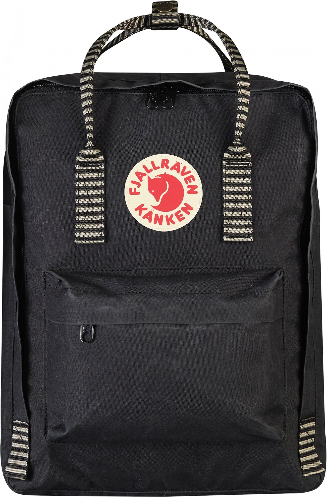 b74cc018b7f520 Jual Fjallraven Fjallraven Kanken Classic Backpack Black Striped ...