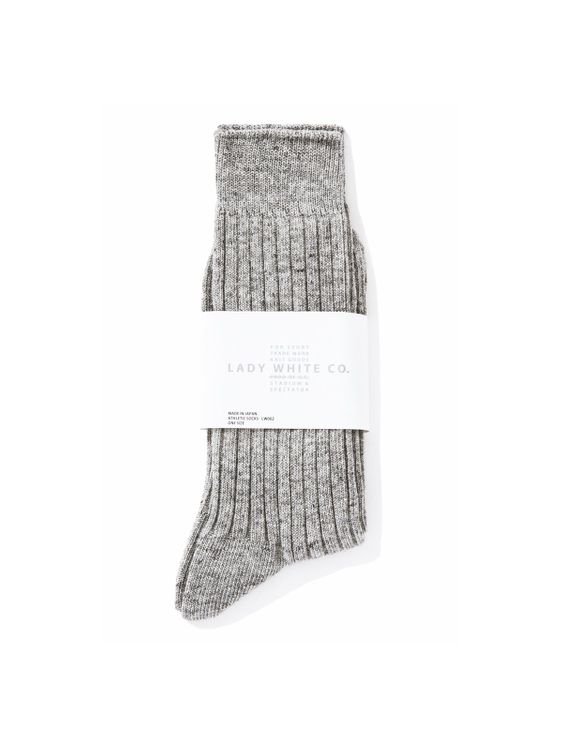 Lady White Co. Lady White Co. Socks Grey