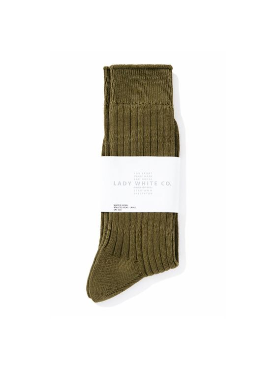 Lady White Co. Lady White Co. Socks Olive