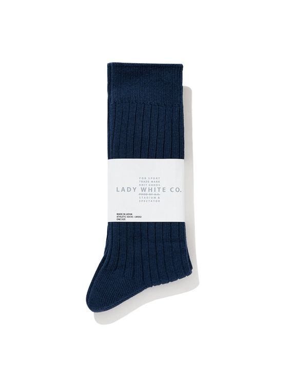 Lady White Co. Lady White Co. Socks Judd Blue