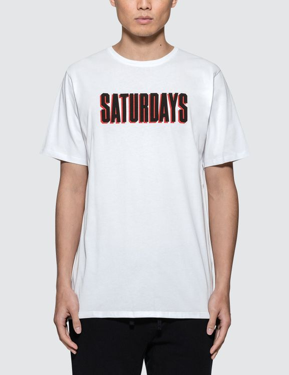 SATURDAYS SURF NYC Off Set S/S T-Shirt
