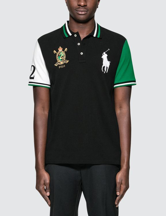 Polo Ralph Lauren Custom Slim Fit S/S Polo With Badge
