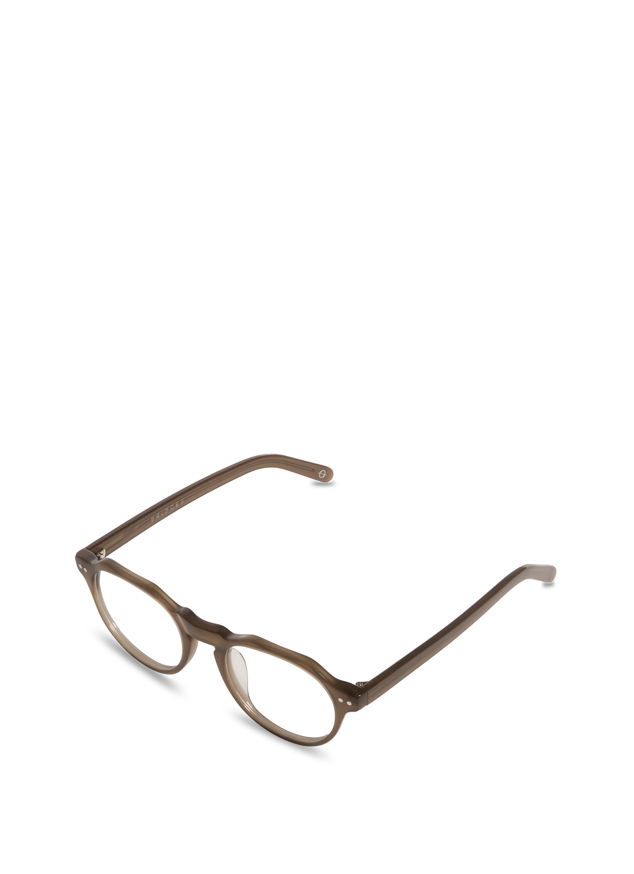 Bridges Eyewear Charles Glasses Milk Gray - F BI BV S CHARLS C7
