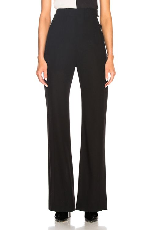 ANN DEMEULEMEESTER High Waisted Trousers