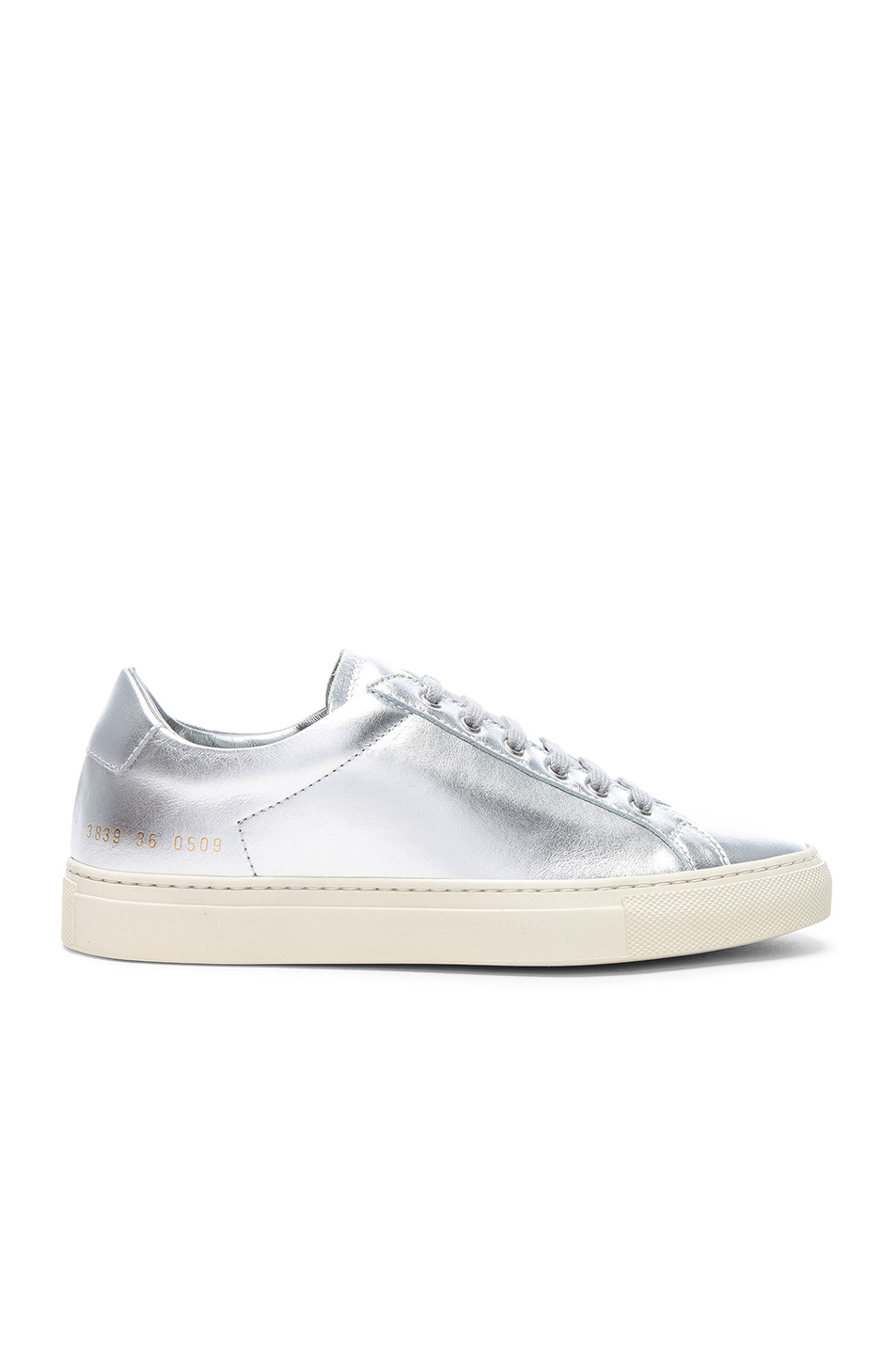 574f2f262898 Buy Original Common Projects Leather Retro Low Achilles Sneakers at ...