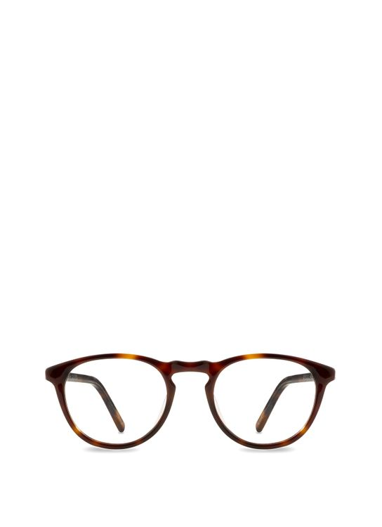 Bridges Eyewear Bridges Eyewear Vecchio Glasses Dark Oak Tortoise - F BI BV S VECHIO C6