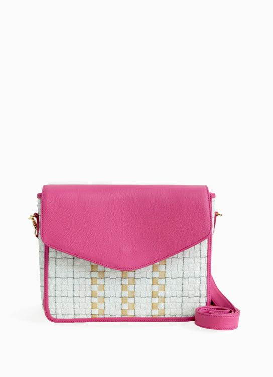 Chameo Couture Pink Petal Quinn Sling Bag