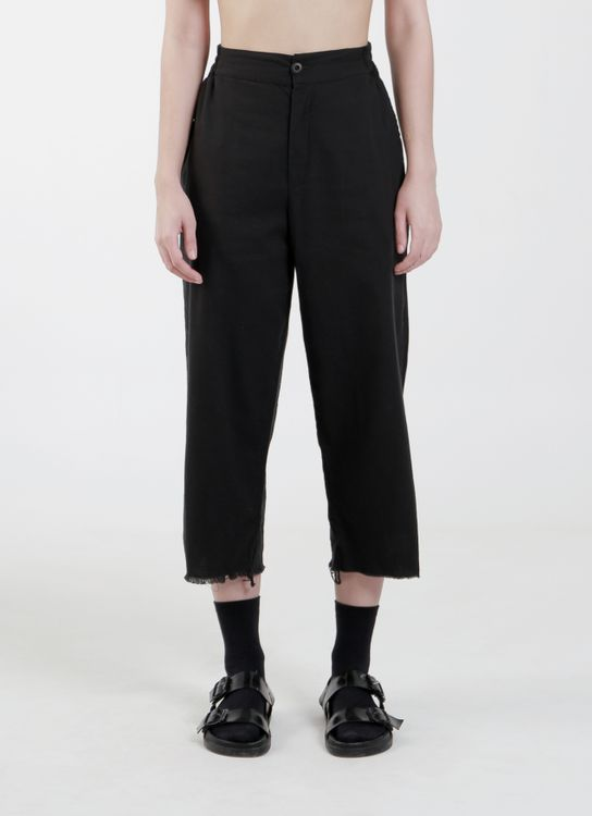 "Satchel Black  ""Everything Is Always"" Cropped Pants"