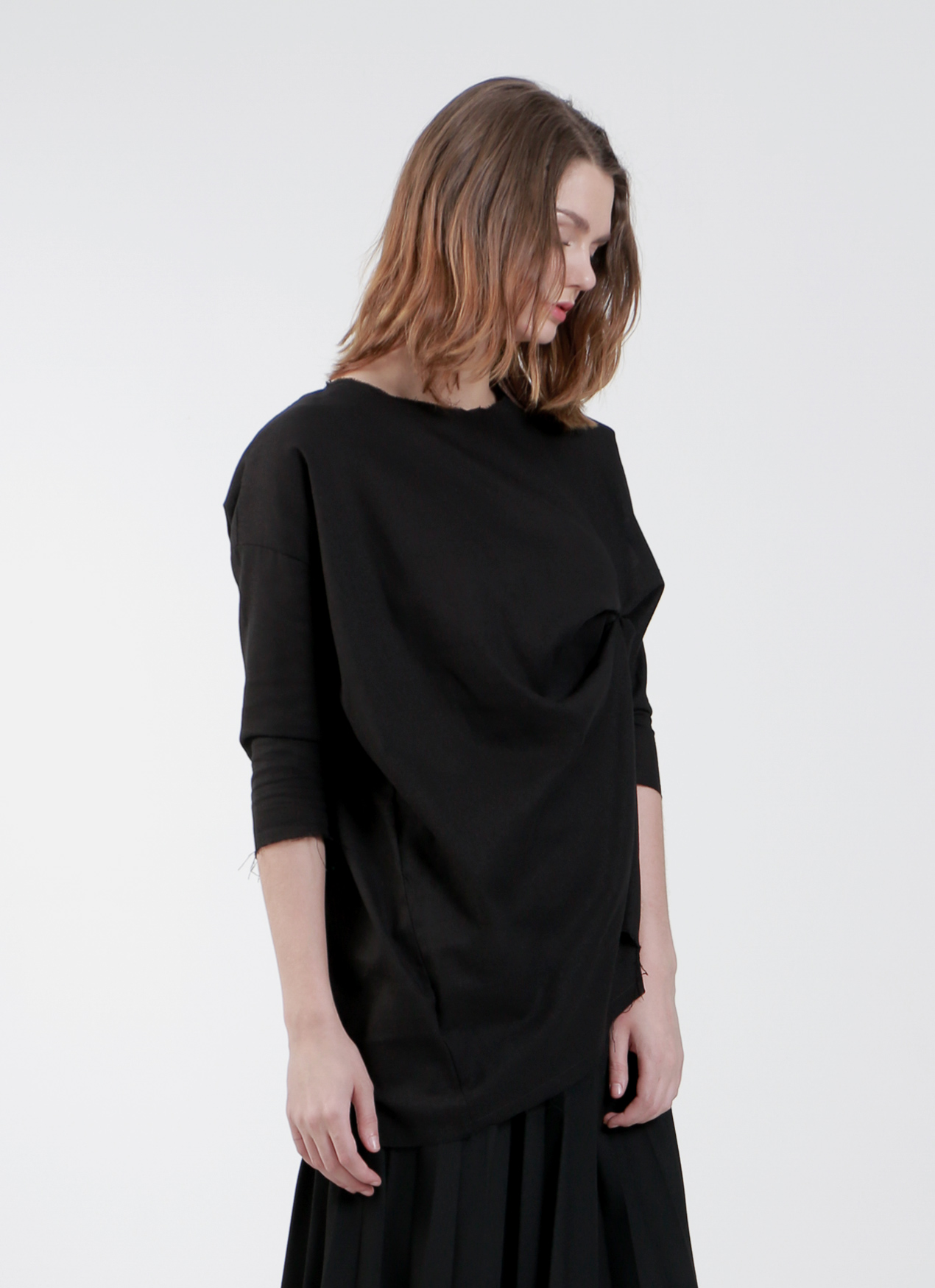 "Satchel Black ""Outhere""Blouse"