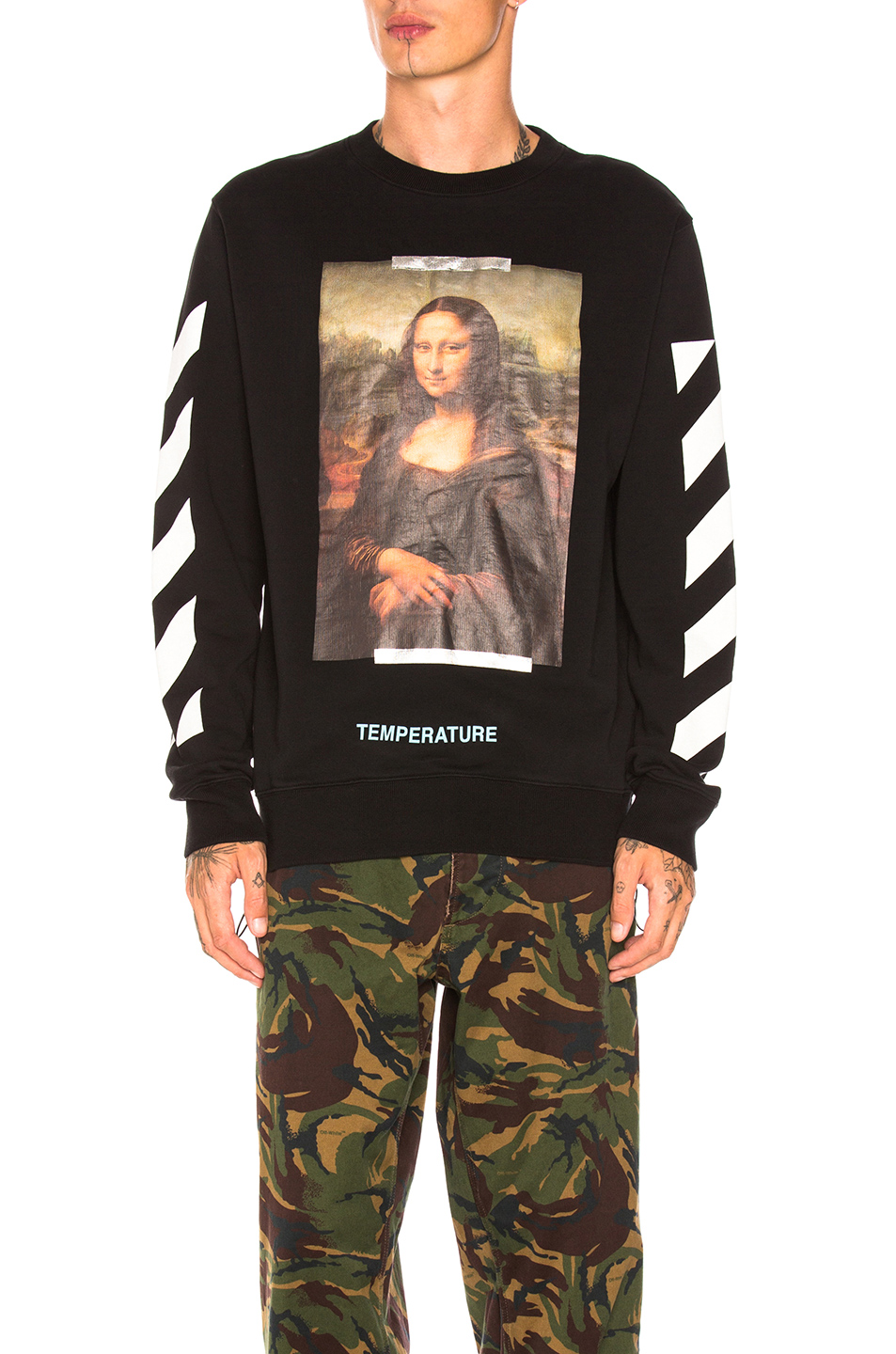 c158d68bbd3 Jual OFF-WHITE Mona Lisa Crewneck - 100% Original