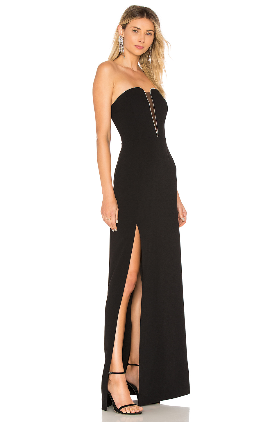 0767cefb8ce4 Buy Original Halston Heritage Strapless Fitted Gown at Indonesia ...