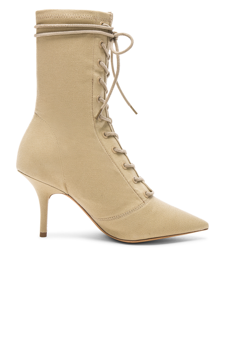 aaea6d936 Buy Original YEEZY Season 6 Stretch Canvas Lace Up Ankle Boot at ...