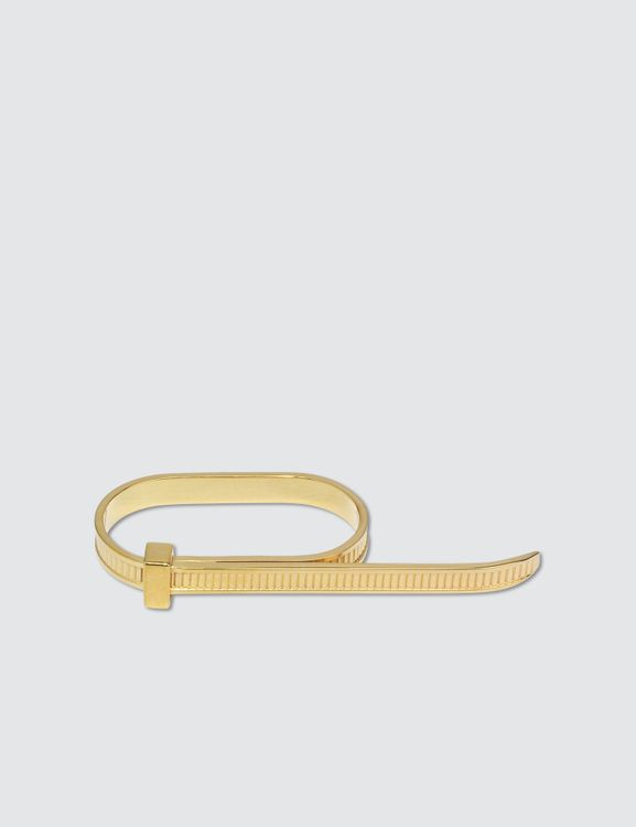 AMBUSH Zip Tie 2-Finger Ring