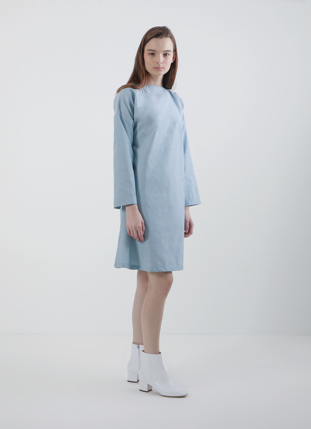 Light Blue Mera Signature Dress, Mera Mera Studio