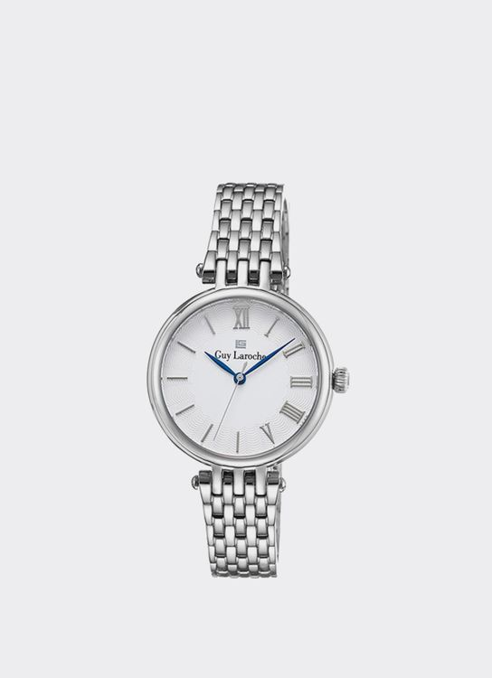 Guy Laroche Silver LW2024-01 Watch
