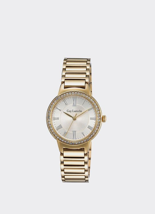 Guy Laroche Gold LW2026-06 Watch