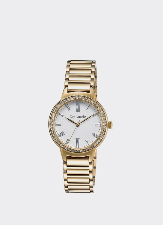 Guy Laroche Gold LW2026-05 Watch