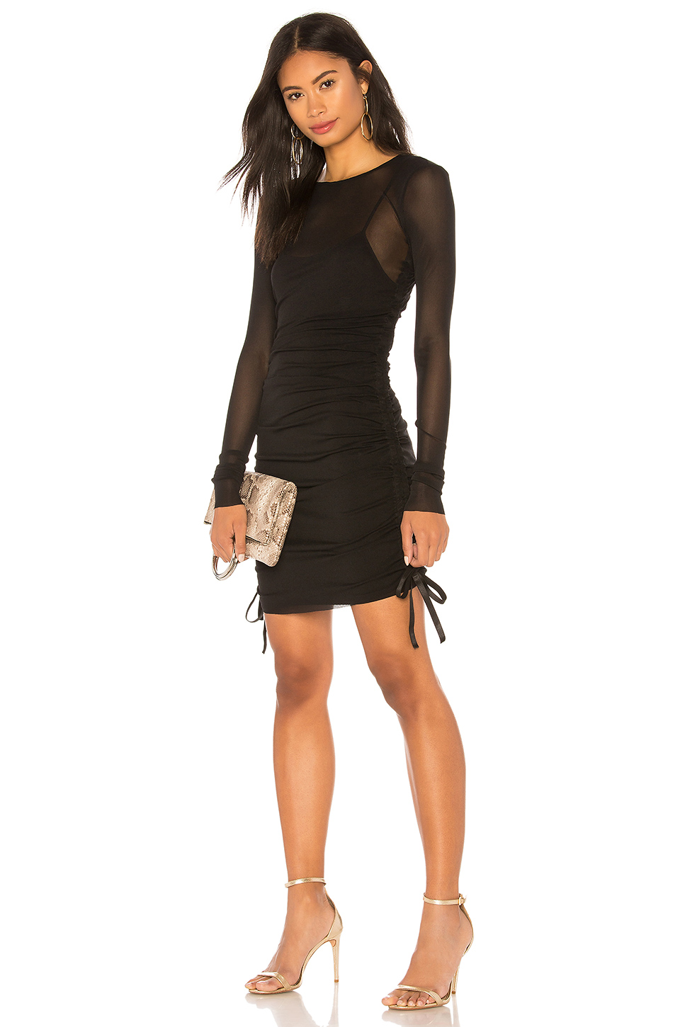 a754f94f2181 Buy Original KENDALL + KYLIE Mesh Cover Up Mini Dress at Indonesia ...