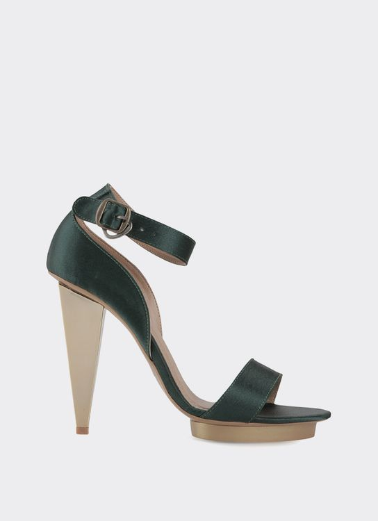 Drama Shoes Green Bingbing Heels