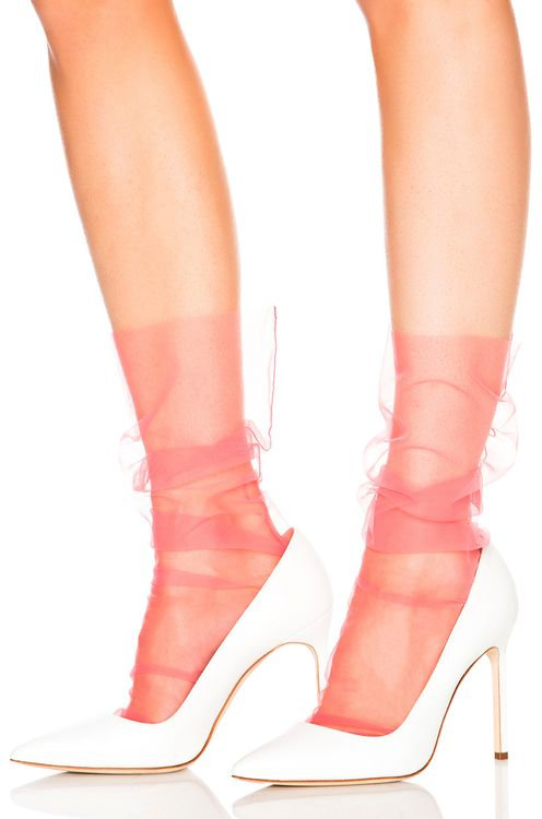 Pan & The Dream Italian Nylon Tulle Socks