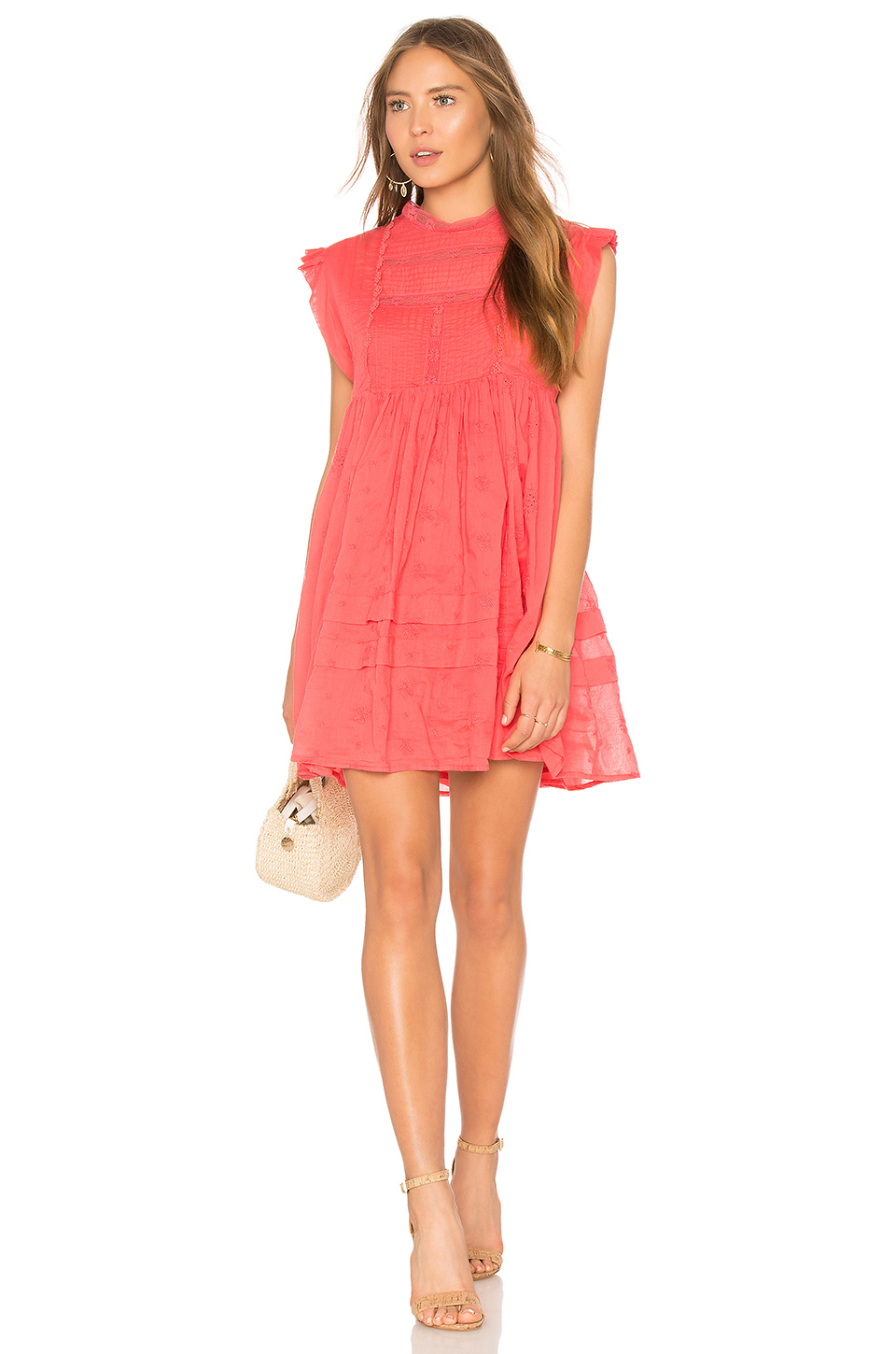 9a9cc27328fe Buy Original Free People Nobody Like You Embroidered Mini Dress at ...