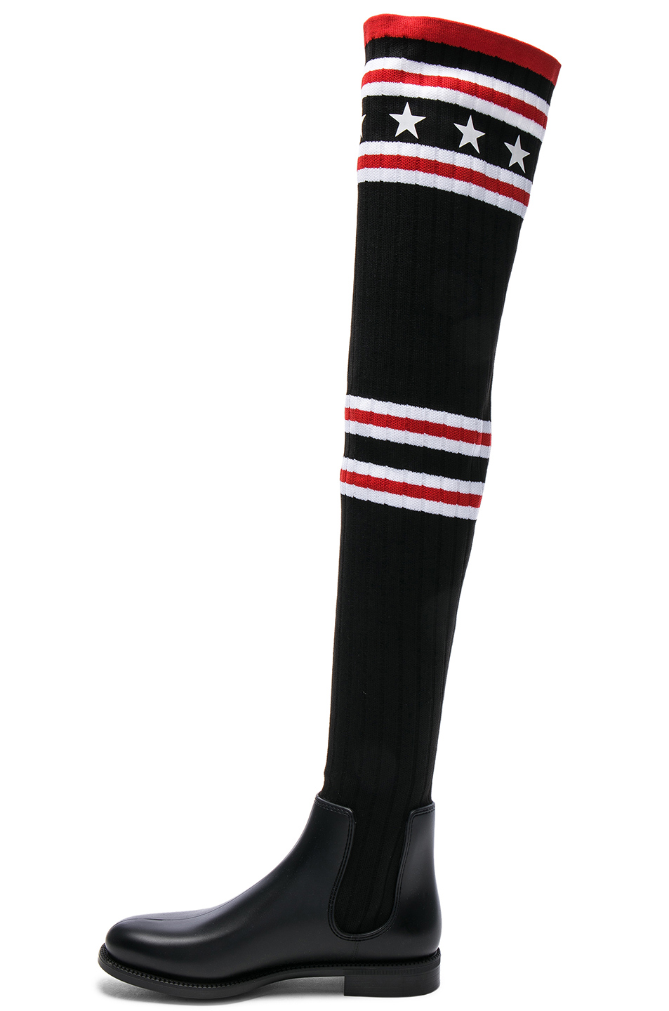 59b73af8325a Buy Original Givenchy Rib Knit Over The Knee Sock Boots at Indonesia ...