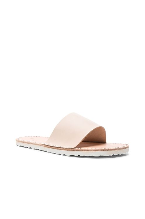 Hender Scheme Leather Slide Sandals