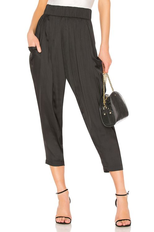 Halston Heritage Flowy Ruched Pant