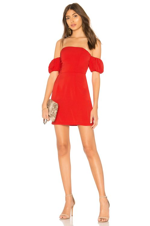 by the way. Clarissa Off Shoulder Dress