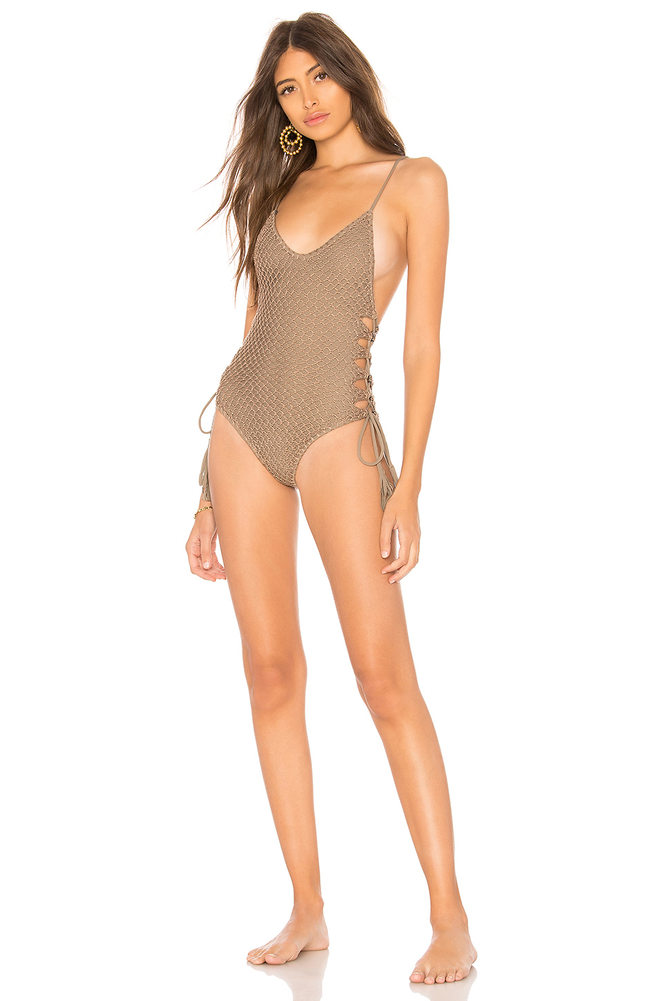 Buy Original Acacia Swimwear Florence Crochet One Piece At Indonesia