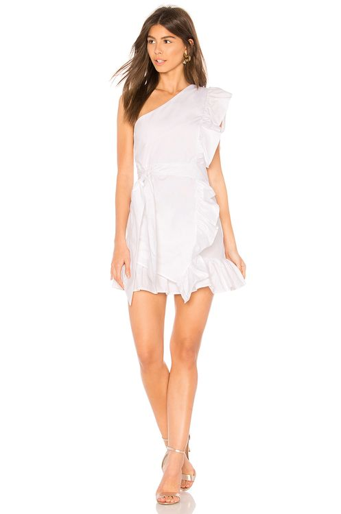 Lioness Sliding Doors Ruffle Dress