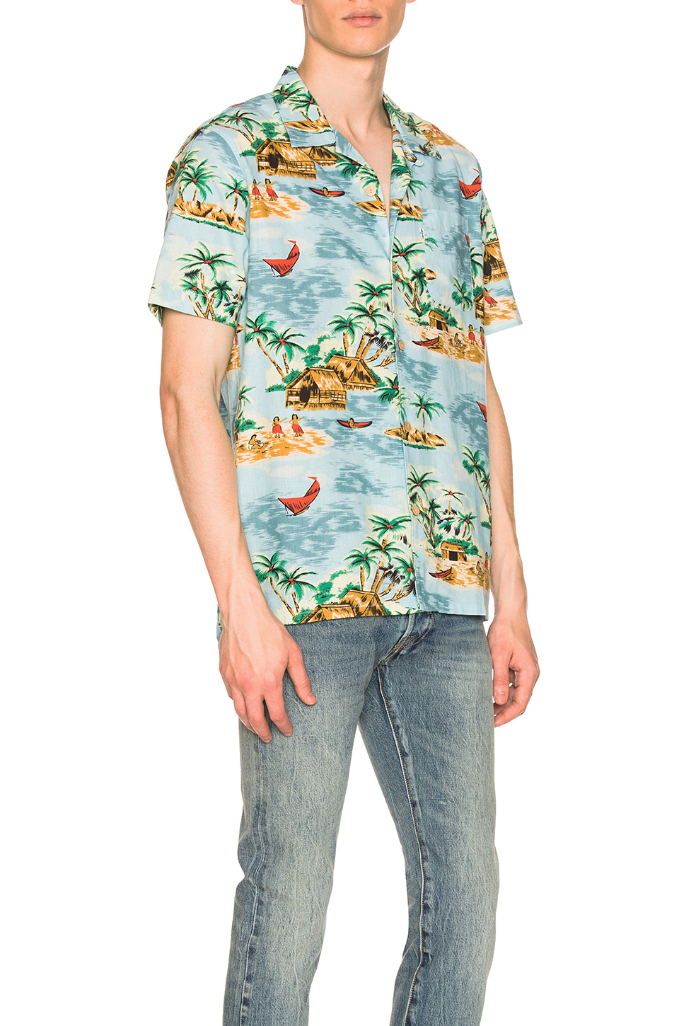 3092c7e66 Buy Original LEVI'S Premium Hawaiian Shirt at Indonesia | BOBOBOBO