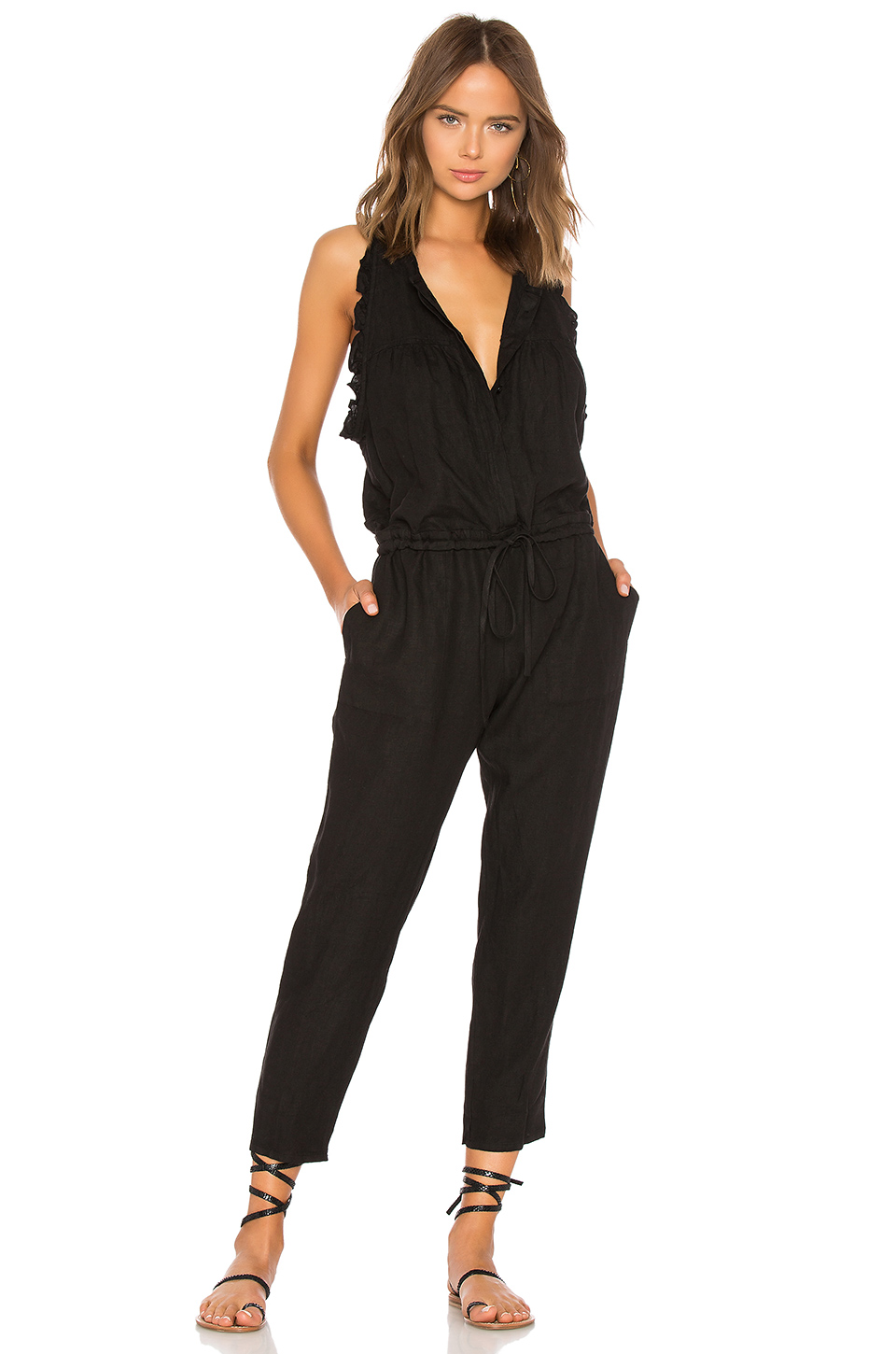 Buy Original Enza Costa French Linen Easy Jumpsuit at Indonesia ... a8c8d38ea