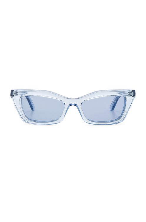 BALENCIAGA Rectangular Cat Eye Sunglasses