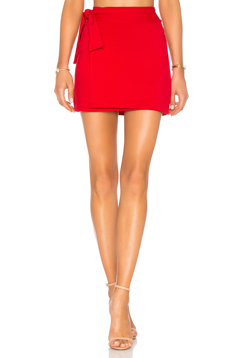 Susana Monaco 16 Tie Mini Skirt