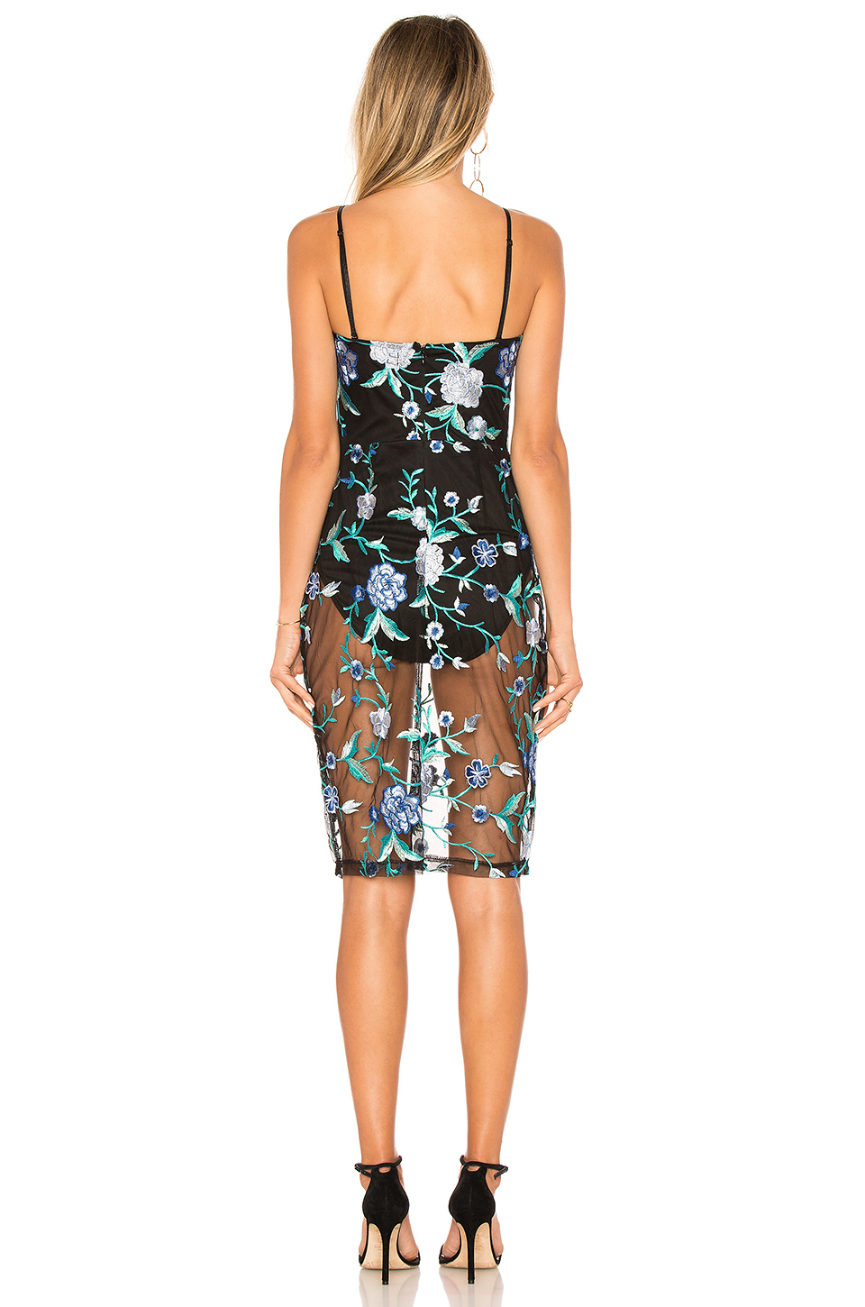 by the way. Lydia Embroidered Corset Dress