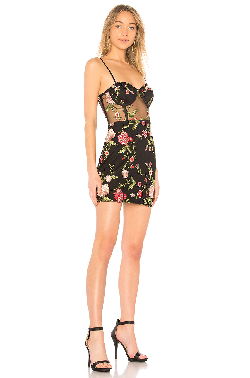 by the way. Ruby Embroidered Corset Dress