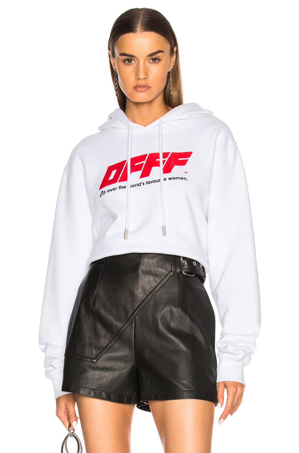 1f164ea912a8 Buy Original OFF-WHITE Cropped Hoodie at Indonesia