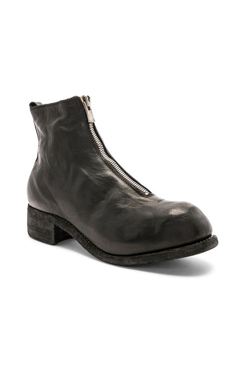 Guidi Soft Horse Full Grain Front Zip Boots