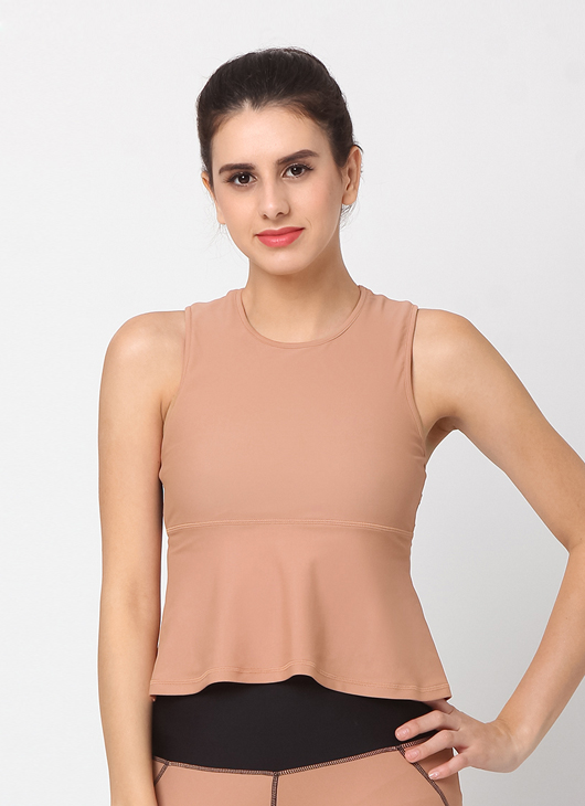 Cuca Active Honey Glow Paris Tank Top