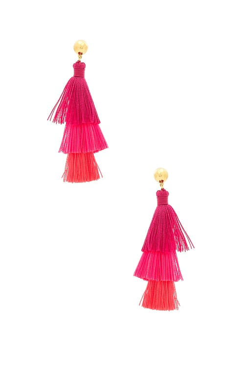 Gorjana Havana Tassel Earrings