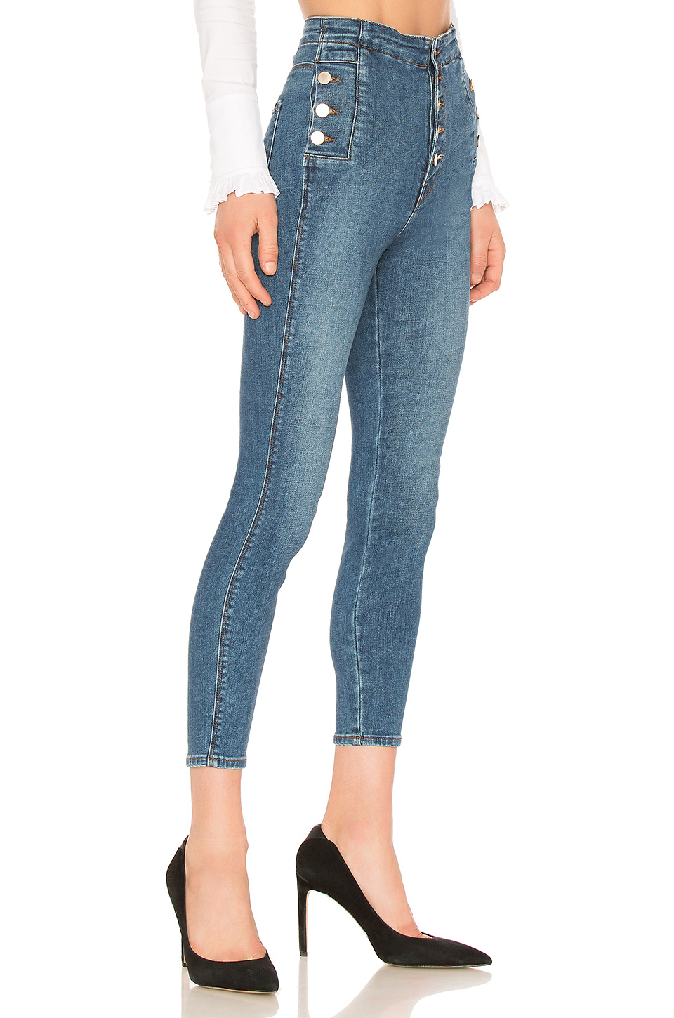 67a7864f434 Buy Original J Brand Natasha Sky High Skinny Cropped Jean at ...