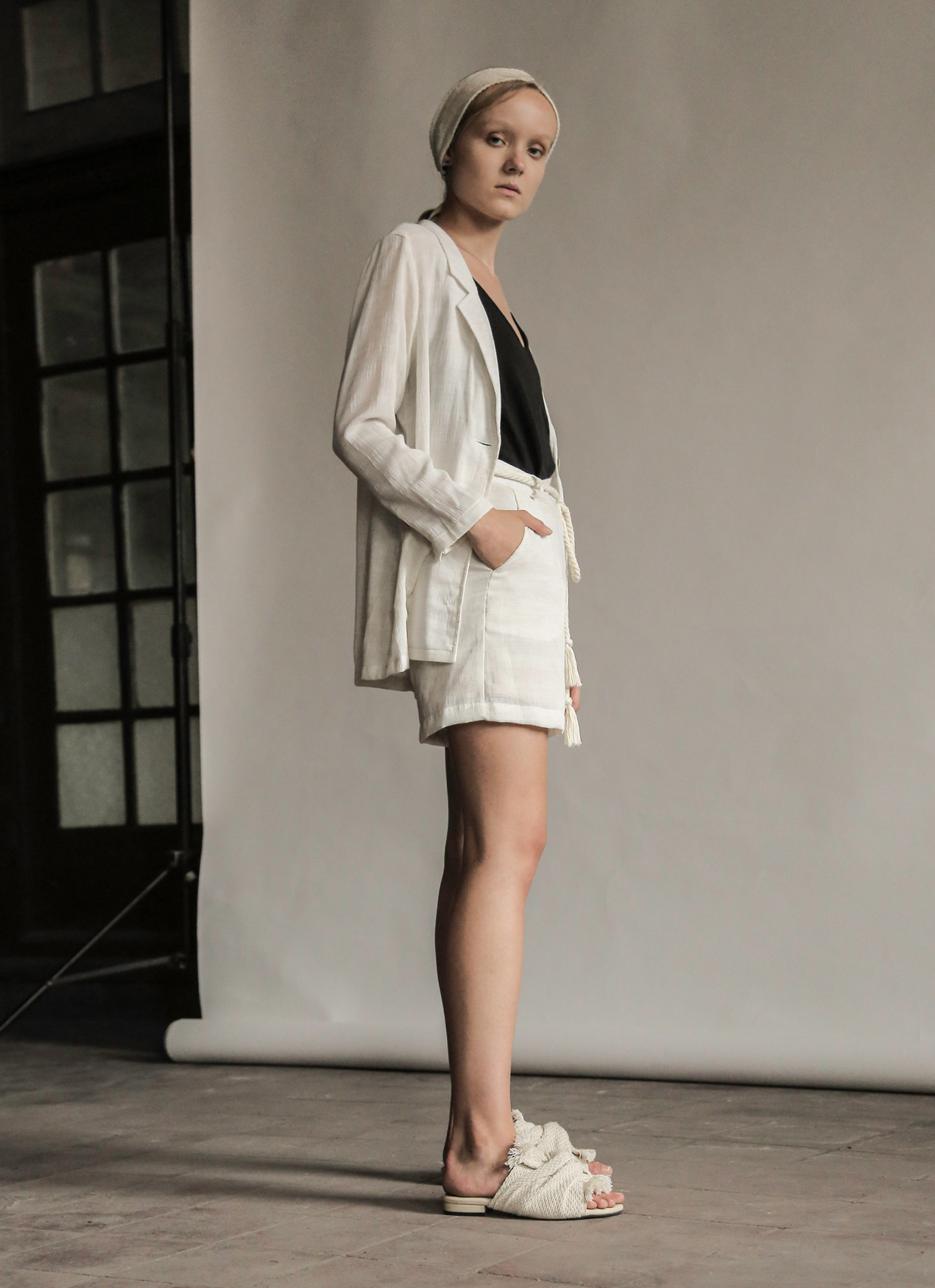 Eesome Beige Lucy Shorts