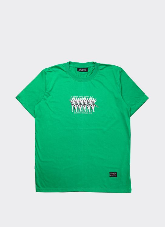 Influential Syndicate Green CCC Basic T-Shirt