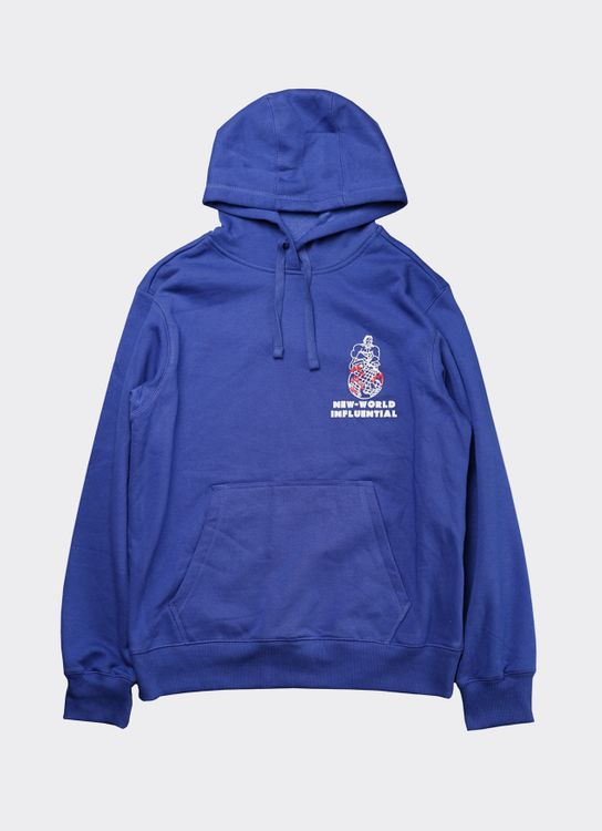 Influential Syndicate Blue New World Hoodie